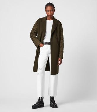 AllSaints Florence Wool Blend Coat