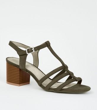New Look Comfort Flex Suedette Block Heels