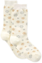 Charter Club Women's Sparkle Snowflake Socks, Only at Macy's