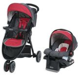 Graco FastActionTM Sport LX Travel System in Chili RedTM