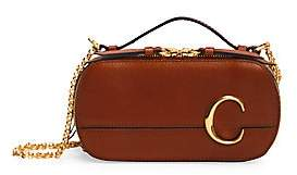 Chloé Women's C Leather Crossbody Bag