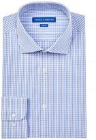 Vince Camuto Slim Fit Check Print Dress Shirt