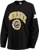 Unbranded Women's Black Purdue Boilermakers Edith Long Sleeve T-Shirt