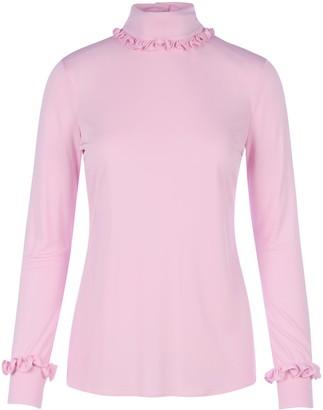 Prada Ruffle-Detailed T-Shirt