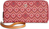 Giani Bernini Graphic Signature Slim Wallet, Only at Macy's