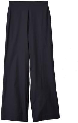 Oyuna Adriana Fossil Grey Cotton Maxi Trousers