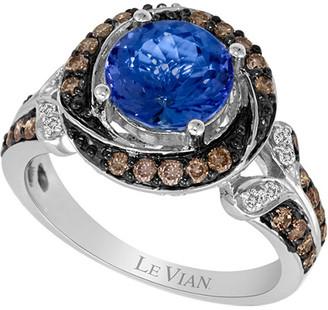 LeVian 14K 2.21 Ct. Tw. Diamond & Tanzanite Ring