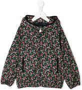 Moncler floral print jacket - kids - Polyamide - 4 yrs