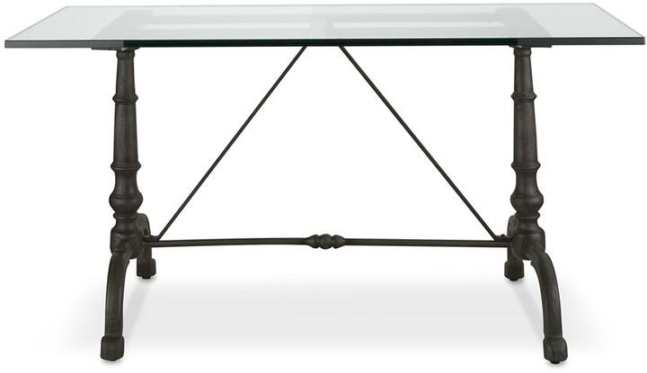 Williams-Sonoma La Coupole Rectangular Iron Bistro Table