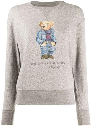 Polo Ralph Lauren Polo Bear-print sweatshirt