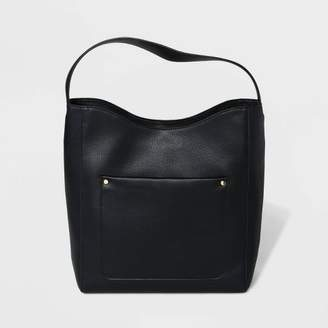 A New Day Front Pocket Hobo Handbag