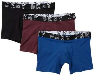 DKNY Stretch Boxer Brief - Pack of 3