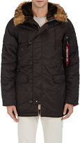 Alpha Industries MEN'S N-3B TECH-TWILL LONG PARKA