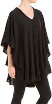 Max Studio Draped Poncho