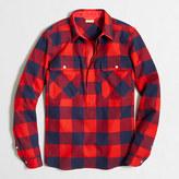 J.Crew Factory Buffalo check shirt-jacket