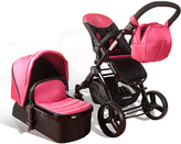 Pink Elle Baby Deluxe Travel System