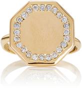 Emily and Ashley Diamond Signet Ring