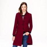 J.Crew Double-cloth metro coat with Thinsulate®