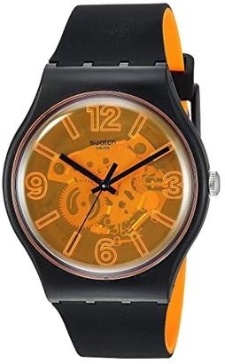 Swatch Orange Boost - SUOB164 (Black) Watches