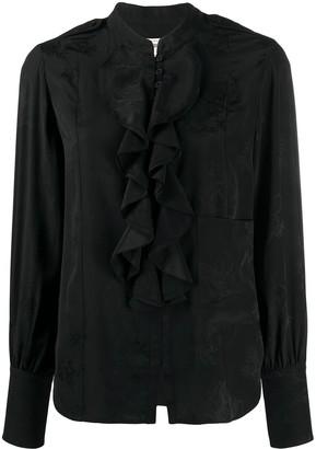 Zadig & Voltaire Twin Leo silk shirt
