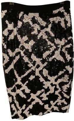 Whistles Black Glitter Skirt for Women