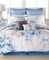 Sunham Lucia 8-Pc. Reversible California King Comforter Set