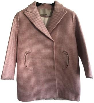 Tara Jarmon Pink Cotton Coat for Women