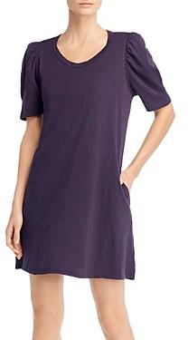 Velvet by Graham & Spencer Ira Cotton Puff-Sleeve Dress