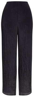 Vince Textured Wide-Leg Trousers