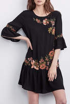 Velvet Betty Ruffle Dress