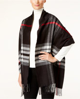 Charter Club Exploded Plaid Blanket Scarf, Only at Macy's