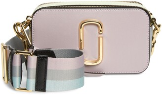 Marc Jacobs The Snapshot Leather Crossbody Bag