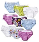 Hanes Girls' Assorted Print 12-Pack Hipsters Underwear