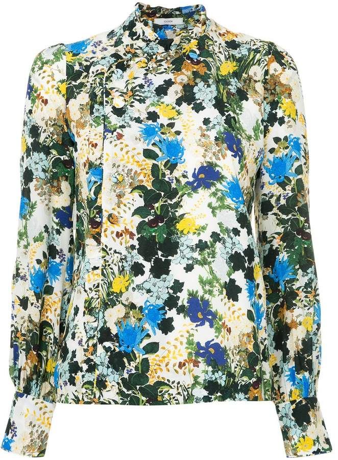 Erdem floral print blouse