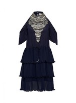 Sambag Lucia Silk Bejewelled Dress