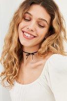 Velvet Bow Choker Necklace