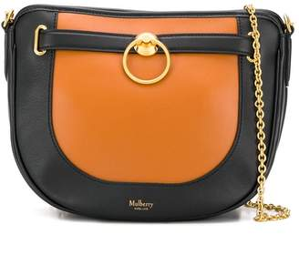 Mulberry Brockwell silky colour-block bag