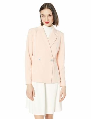 Nanette Lepore Women's Ls Double Breasted Blazer W/M