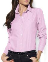 Lauren Ralph Lauren Wrinkle-Free Striped Dress Shirt