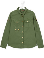Zadig & Voltaire Kids - military shirt - kids - Cotton - 14 yrs