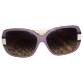 Chloé Pink Plastic Sunglasses