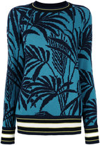 Antonia Zander cashmere palm trees jumper - women - Cashmere - S