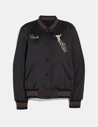 Coach Disney X Reversible Varsity Jacket