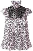 Giamba leopard print blouse