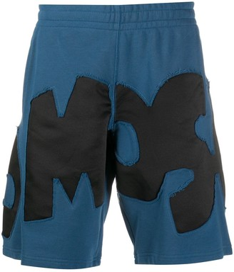 Moschino Logo-Appliqued Track Shorts
