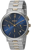 DKNY Women's 'Willoughby' Quartz Stainless Steel Casual Watch, Color:Silver-Toned (Model: NY2542)
