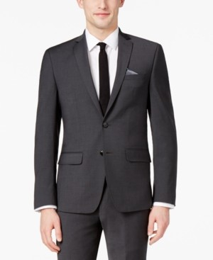 Bar III Men's Skinny Fit Stretch Wrinkle-Resistant Suit Jacket, Created for Macy's