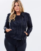 Harlow Let's Go Crazy Biker Jacket