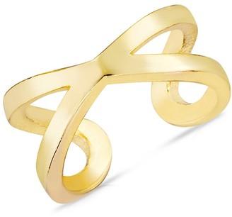 Chloe & Madison 14K Yellow Gold Vermeil Single Ear Cuff