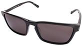 Calvin Klein Black Rectangle Sunglasses - Adult